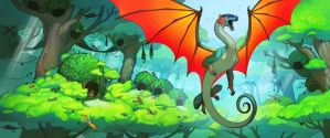 Wings of fire the hidden kingdom by Sunset-Pony-Artist