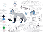 Kayara- Fox Reference Sheet by QueenKayara