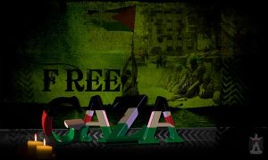 For Gaza by rzrdesign