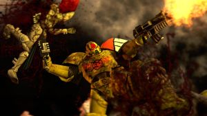 The Angry Marine ::Warhammer 40k:: by guywiththesuitcase