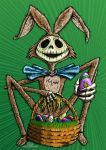 Jack Skellington Easter by TCosbyJr