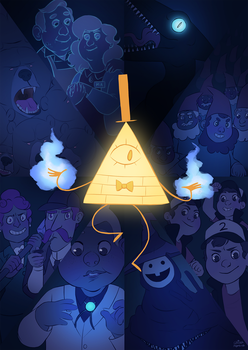 Gravity Falls by gingerbreadcat