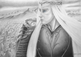 Thranduil, King of the Woodland Realm by Mitheriel