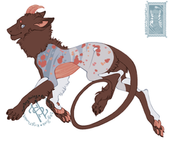 speckled cocoa kebanzu OFFER TO ADOPT closed by Hauket