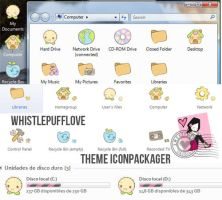 WhistlePuffLove Theme Iconpackager by iBeHappyRawr