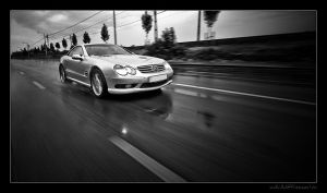 Mercedes SL55 AMG 05 by miki3d