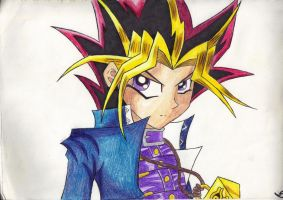 Yugi Moto by Absinthe-Addiction