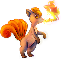 Vulpix Quickie by mypokemans