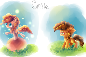 Smile (MLP) by AquaGalaxy