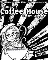 Coffe House Flyer by Treybacca