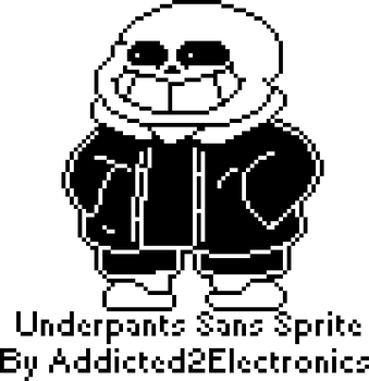 Underpants Sans Sprite by Addicted2Electronics