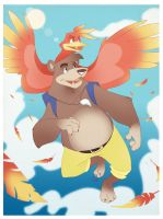 Bears Can Fly by rollingrabbit