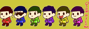 Osomatsu-san Banner by Cookie-and-her-foxes