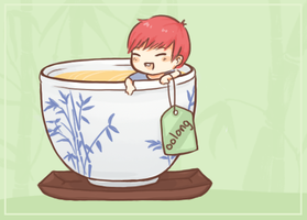 infinitea: oolong sunggyu by Yutong