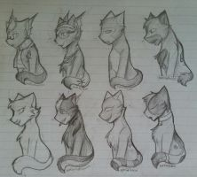 [ More doodle cats- ] by AskFefCat
