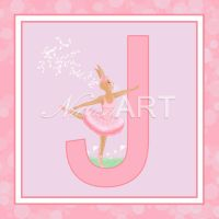 Bunny Letter J by Cunimuni