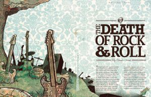 Death of Rock and Roll Illust. by the-star-samurai