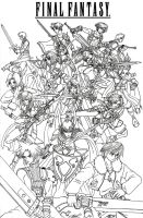 Final Fantasy Heroes by taresh