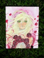 Pink girl by Lily-Poulp