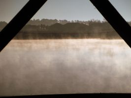 Gazebo Fog View Now in Color by kAoTiCwOnDeR