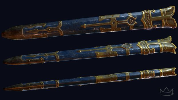 Master Sword Scabbard by Nick-A-D
