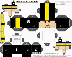 ben roethlisberger cubee 2 by 1madhatter