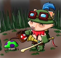 Teemo of League of Legends by LifesFailedCreation