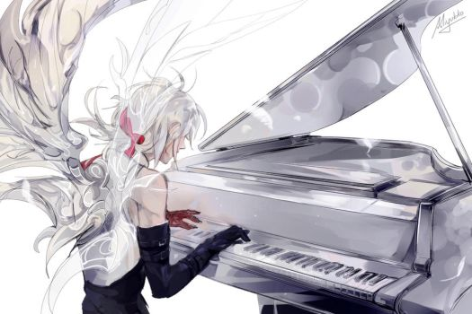 DGM - Wings of piano by Miyukiko