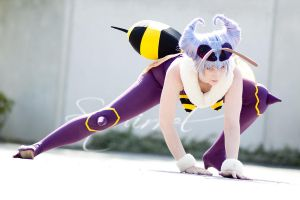 Darkstalkers - Queen Bee by Andy-K