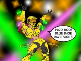 Rave night at Blue Base by ZZoMBiEXIII