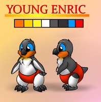 Young Enric reference sheet by Enricthepenguin92
