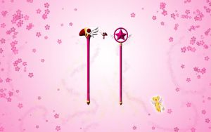 Card Captor Wands by silverbeam