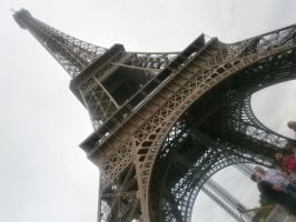 Eiffel Tower 1 by Foxipaws
