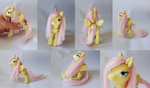 Fluttershy Poseable Doll by vonBorowsky