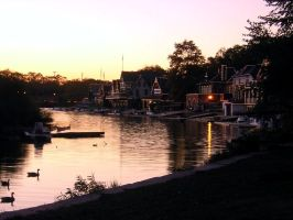 Boathouse Row 2 by markdc
