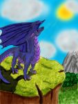Cliff Dragon by whitelightning15