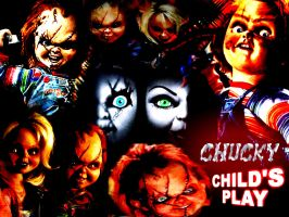 Chucky by serialkiller07
