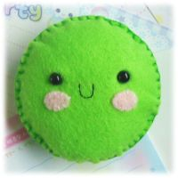 Hap-Pea Pincushion by Keito-San