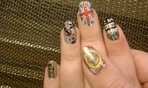 Sherlock Nail Art Part 2 by LostFlame