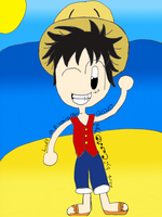 Luffy! by Link-Pikachu