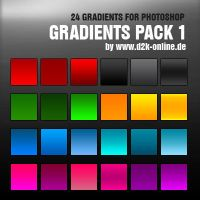 24 GradientPack 1 - FREE by dude2k