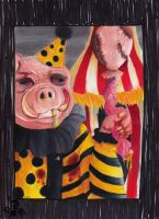 Pig Face by TheTweedleTwins