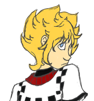 Roxas doodle by absolutelycancerous