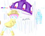 Salty Umbrella by DoubleBacklace