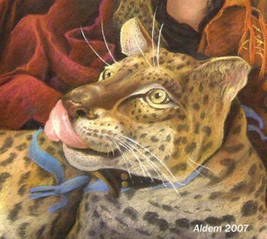 Gala Leopard - fragment by CalciteMink1610