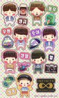 Infinite Sticker by Jadekyy
