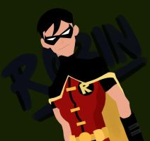 Young Justice: Robin by WhyteHawke
