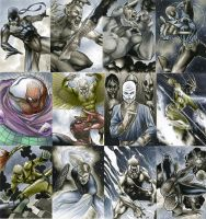 Spider-Man sketch cards (PSCs) by RichardCox