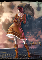 Alice madness returns steampunk by tydyshpysh