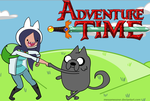 Adventure Time With Me And Moon! by kasanelover